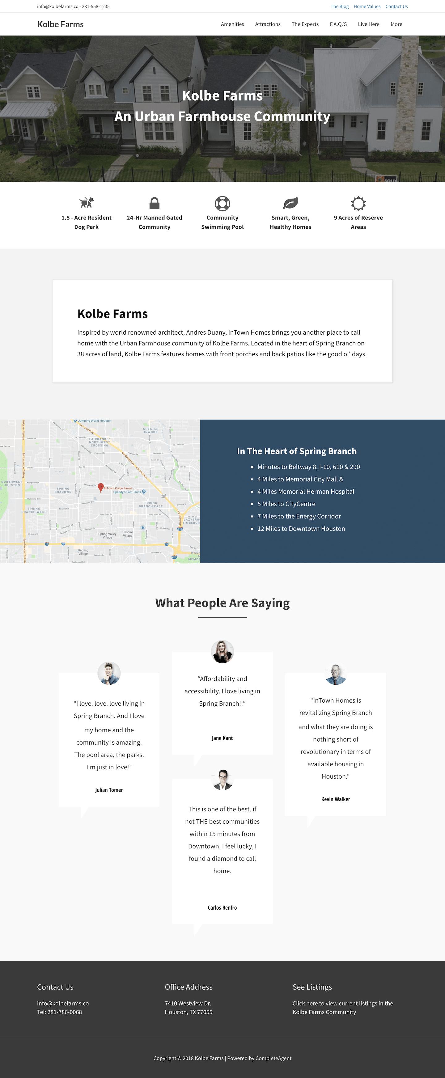 MyKolbeFarms Community Website
